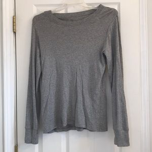 Gap Gray long sleeve shirt